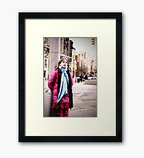 Cold in New York Framed Print