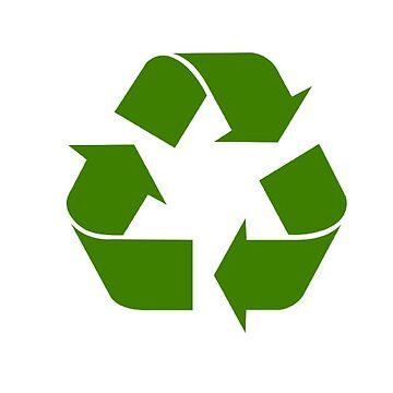 recycling symbol by EfrainGaleano