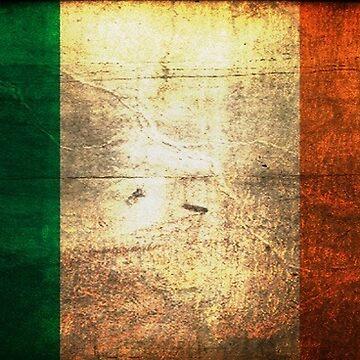 Vintage Irish Flag by EfrainGaleano