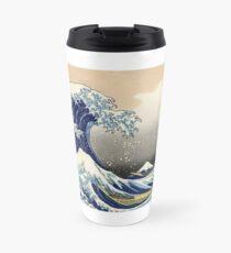 'The Great Wave Off Kanagawa' by Katsushika Hokusai (Reproduction) Travel Mug
