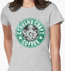 Cthulhu Craft Coffee Women's Fitted T-Shirt