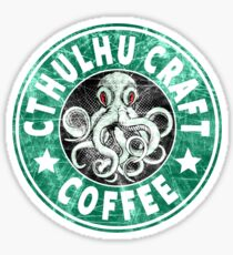 Cthulhu Craft Coffee Sticker