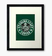 Cthulhu Craft Coffee Framed Print
