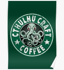 Cthulhu Craft Coffee Poster