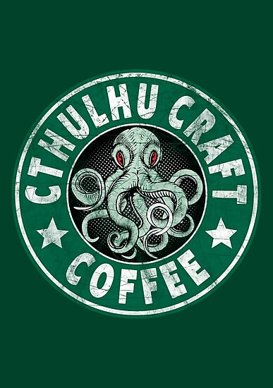 Cthulhu Craft Coffee by Tee-Nation