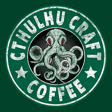 Cthulhu Craft Coffee by Tee-Nation