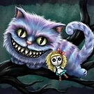 Cheshire Cat  by DianaLevinArt
