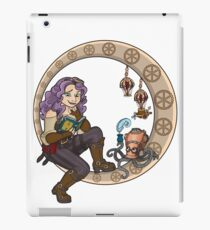 Cassie and Benson - the inventor and her friend iPad Case/Skin