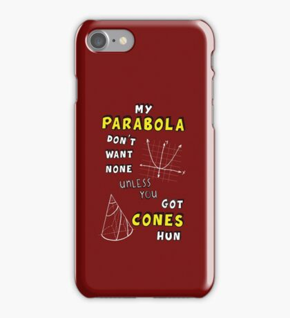 My Parabola iPhone Case/Skin