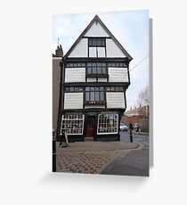 King's English Shop, Canterbury Greeting Card
