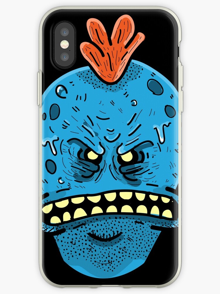 the best attitude 9307b bd9ac 'Rick and Morty : I'm Mr.Meeseeks Look at Me ' iPhone Case by Dr. Aya