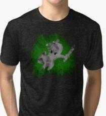 The Minish Brush Green Tri-blend T-Shirt