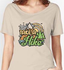 Camiseta ancha para mujer Hacer una caminata