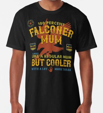 Fun Falconer Mum for Hawking Mums and Falconry Mothers Long T-Shirt