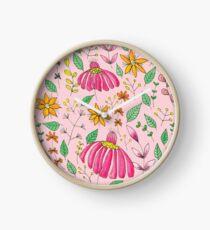 Serumpun - Pink Clock