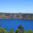 The Blue Lake in Mount Gambier SA by ABY-Creative