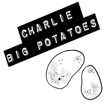 Big Charlie Potatoes Cockney London Collection by emmafifield