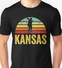 Kansas Treasure Finding Apparel Metal Detecting Gift Unisex T-Shirt