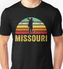 Missouri Treasure Finding Apparel Metal Detecting Gift Unisex T-Shirt