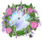 «conejito de rosas y lilas» de colleneconrad