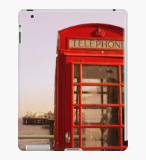 Phone Booth in Brighton iPad Case/Skin