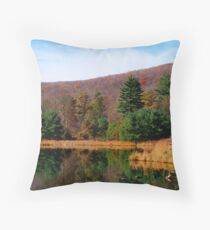 The Boyscout Camp Throw Pillow