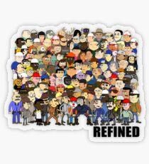 Refined Group Transparent Sticker