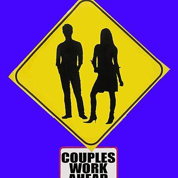 COUPLES WORK AHEAD by DAdeSimone