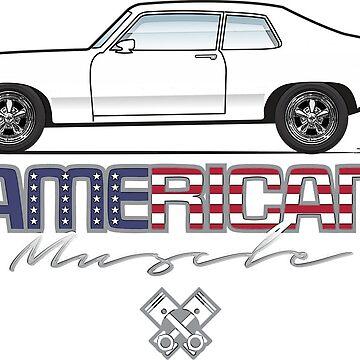 73-74 American Muscle by JRLacerda