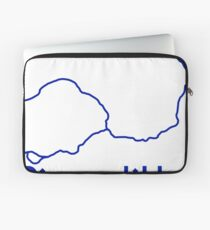 London Underground Piccadilly Line Map Laptop Sleeve