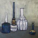 Studie in Öl nach G. Morandi von Christel  Roelandt
