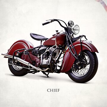 The Vintage Chief Motorcycle by rogue-design