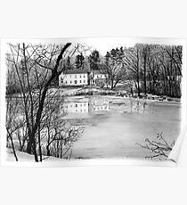 Coles Pond - West Boxford, Massachusetts Poster