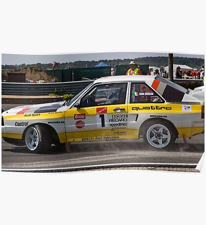 Audi Quattro S1 Poster