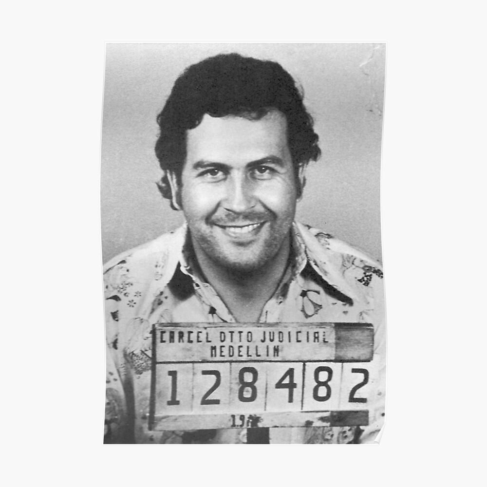 Pablo Escobar Becher Poster