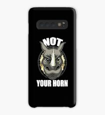 VeganChic ~ Not Your Horn Case/Skin for Samsung Galaxy