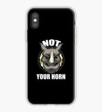 VeganChic ~ Not Your Horn iPhone Case