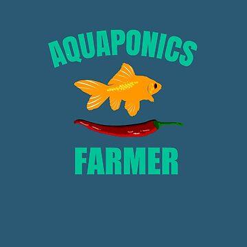 Aquaponics Farmer by miniverdesigns