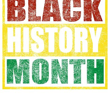 Colorful Black History Month 2019 T shirt by Dan66