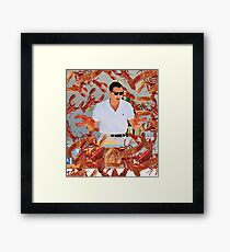 Lobster of Wall Street Framed Print