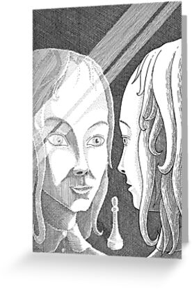 Alice Through the Looking-Glass by Gavin L. O'Keefe
