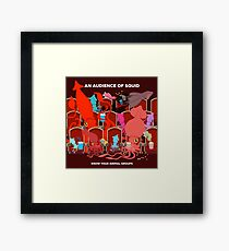 An Audience of Squid Framed Print