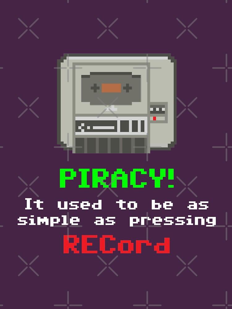 Geekdom [C64] - Piracy! by ccorkin