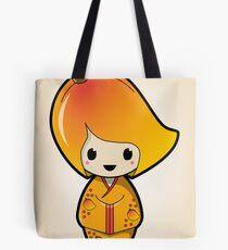 Mango Kokeshi Doll Tote Bag