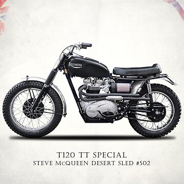 Desert Sled Motorcycle Number 502 by rogue-design