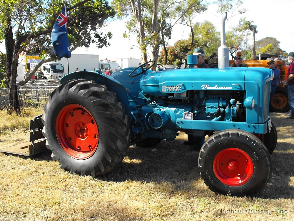 Fordson Major by Matthew Walmsley-Sims
