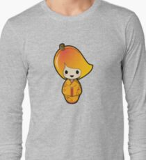 Mango Kokeshi Doll Long Sleeve T-Shirt