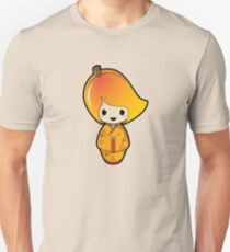 Mango Kokeshi Doll Unisex T-Shirt