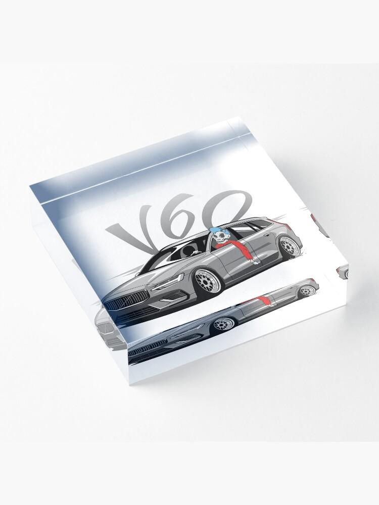 Vista alternativa de Bloque acrílico V60 Skulldriver Low Style
