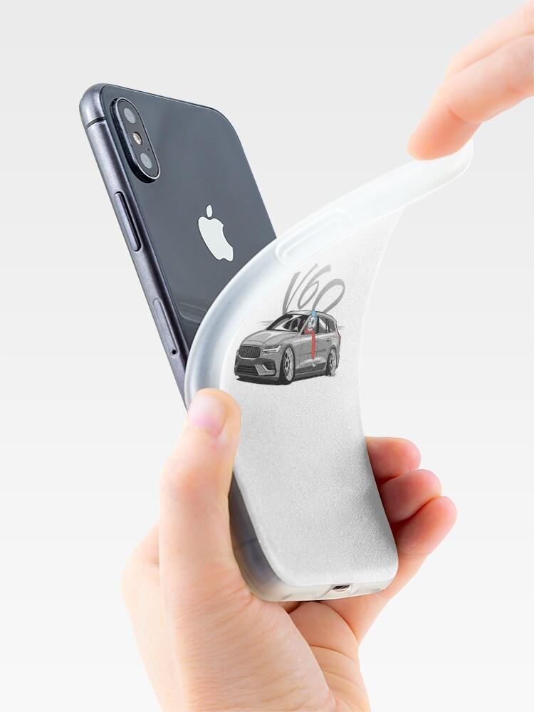 Vista alternativa de Funda y vinilo para iPhone V60 Skulldriver Low Style